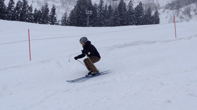 スキー 姿勢 つくり方