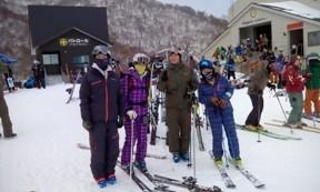 体玄塾のスキースクール