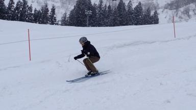 スキー 先落とし