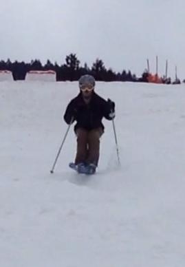 体玄塾 スキートレーニング