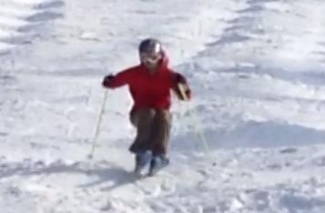 スキー 膝痛
