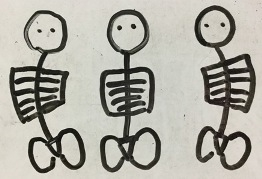 体幹 背骨 作り方