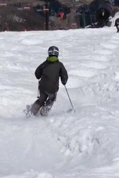 スキー 横滑り 練習法