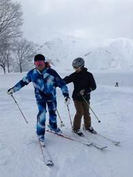 体玄塾 スキーレッスン