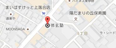 東中野地図
